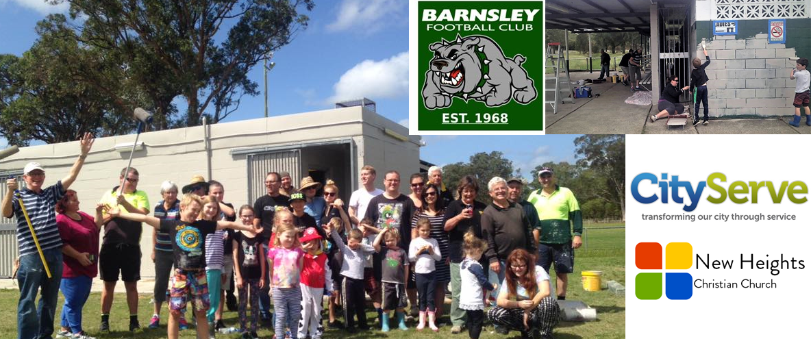 Barnsley Football and New Heights Church