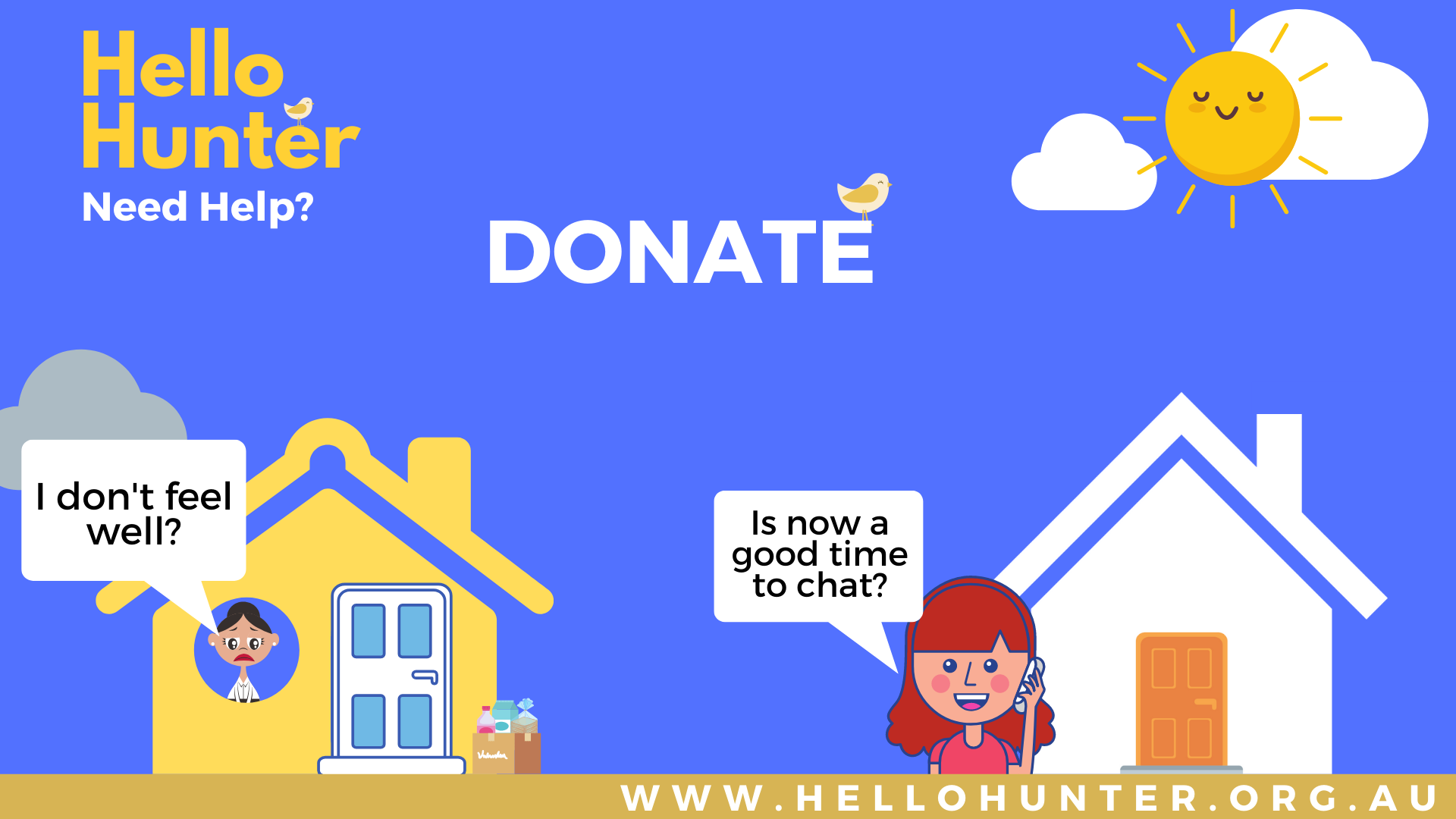 Donate to Hello HUnter (1)