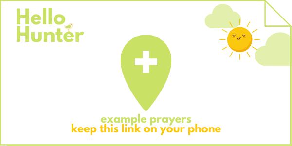 example prayers